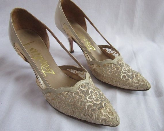 If I Could Dress Like This Bride Shoes Vintage Shoes Mother Of The Bride Shoes