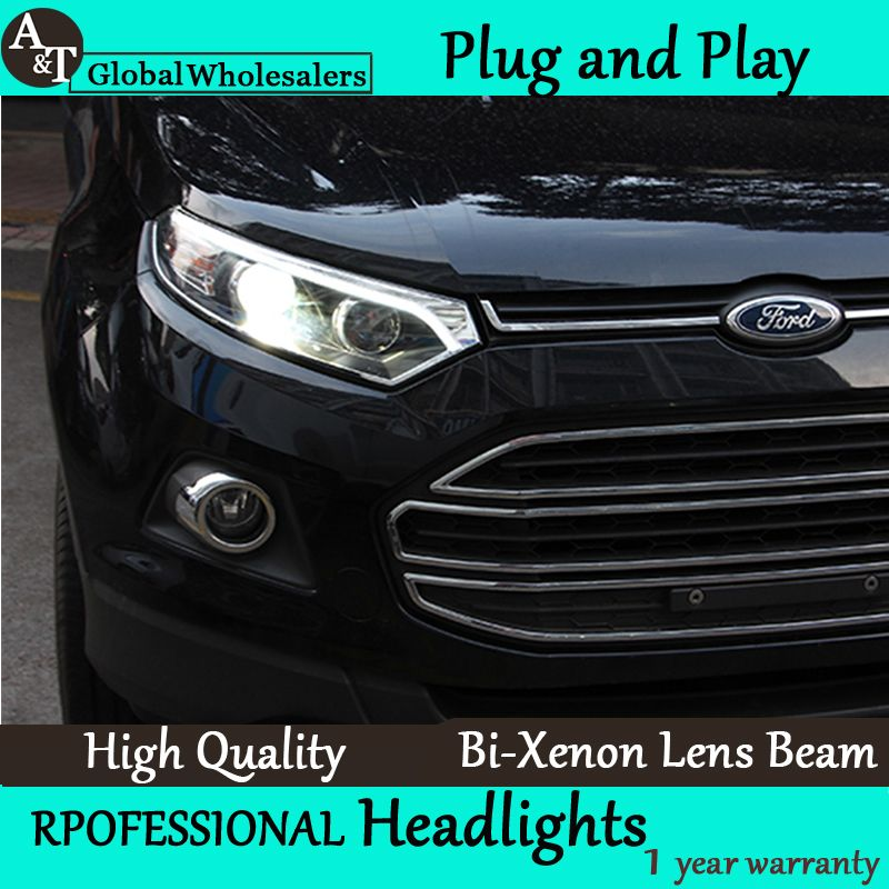 A T Car Styling For Ford Ecosport Headlights Ecosport Led