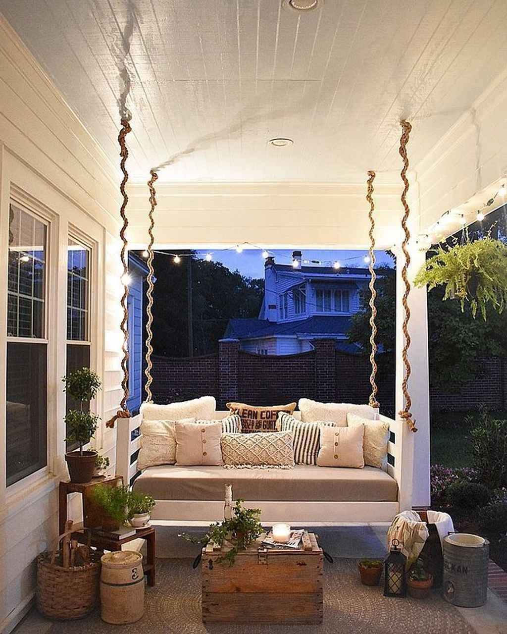 08 inspiring farmhouse porch swing outdoor ideas in 2020