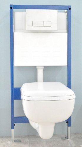 Sissa Square Compact Short Projection Wall Hung Toilet Soft Close Seat 1200 Concealed Cistern Chrome Dual Square Rect Wall Hung Toilet Concealed Cistern Toilet