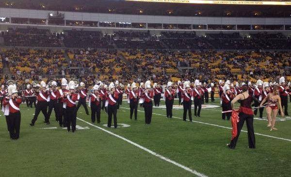 The Vulcan Marching Band California University Of Pennsylvania