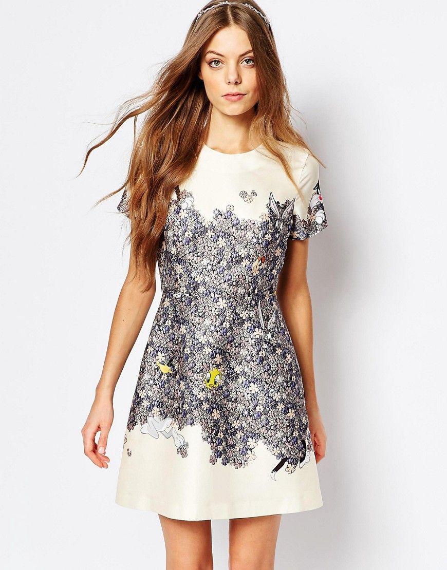 Image 1 Of Paul And Joe Sister Looney Fleurs Printed Dress