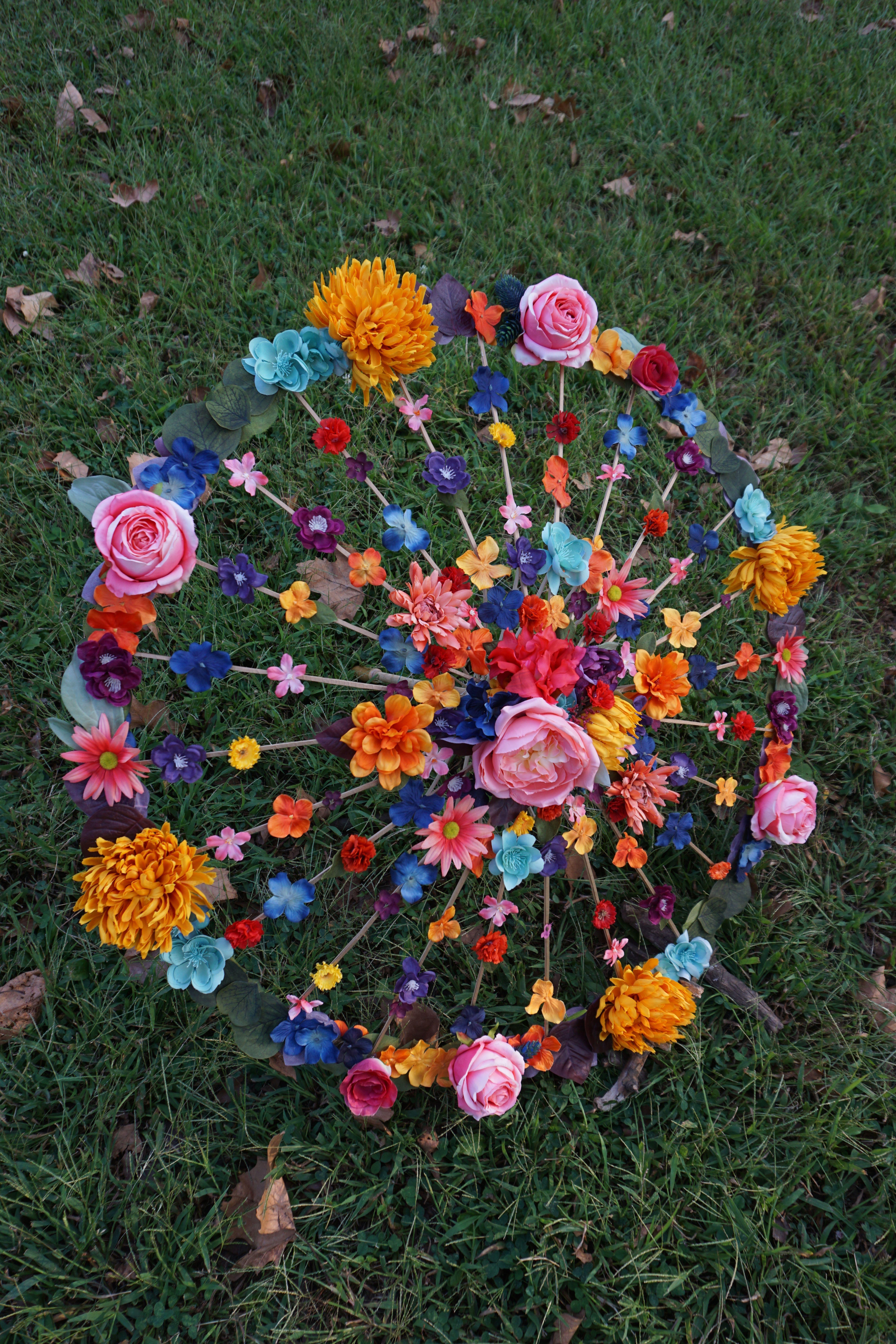 Bridesmaids Festival Gear Jewel Tone Autumn Photo Prop Floral Wedding Umbrella Fall Flower Parasol Fall Wedding Bridal Accessory