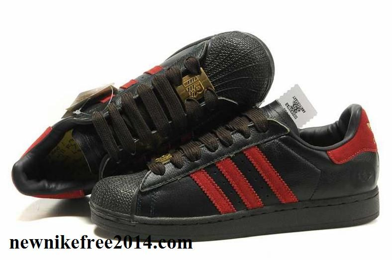 Best Adidas Superstar 35th Anniversary Black Red Gold For Women.s Running  Shoes For Shopping