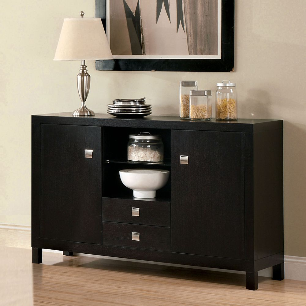 Room Furniture Of America Catherine Espresso Dining