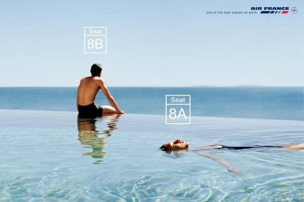 Airline pool print ad by betc euro rscg marketing for Creative pool design jobs