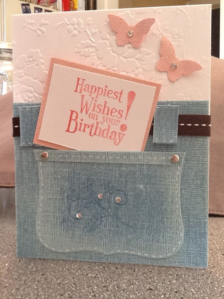 Card for my son's girlfriend turning 17....SU Happiest