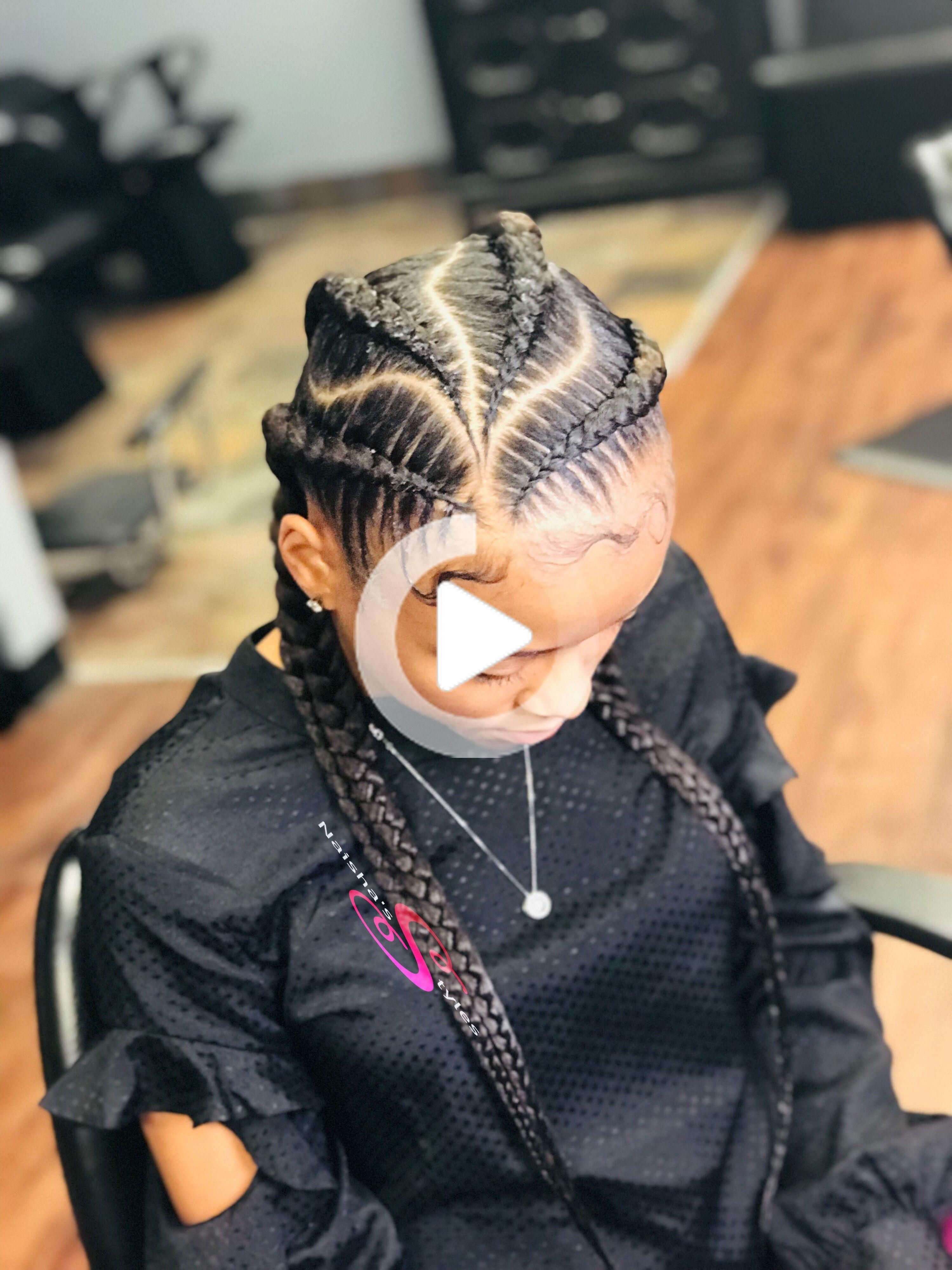 Pin On Braided Hairstyles Feed In Braids Hairstyles Braided Hairstyles Braided Cornrow Hairstyles