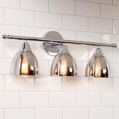 Chrome Translucent Glass Vanity Light 3 Light Glass Vanity Translucent Glass Modern Bath Light