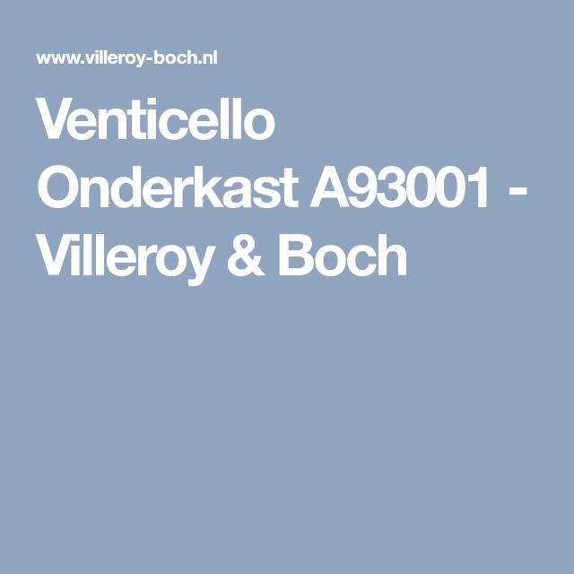 Venticello Onderkast A93001 - Villeroy & Boch - Badkamer | Pinterest ...