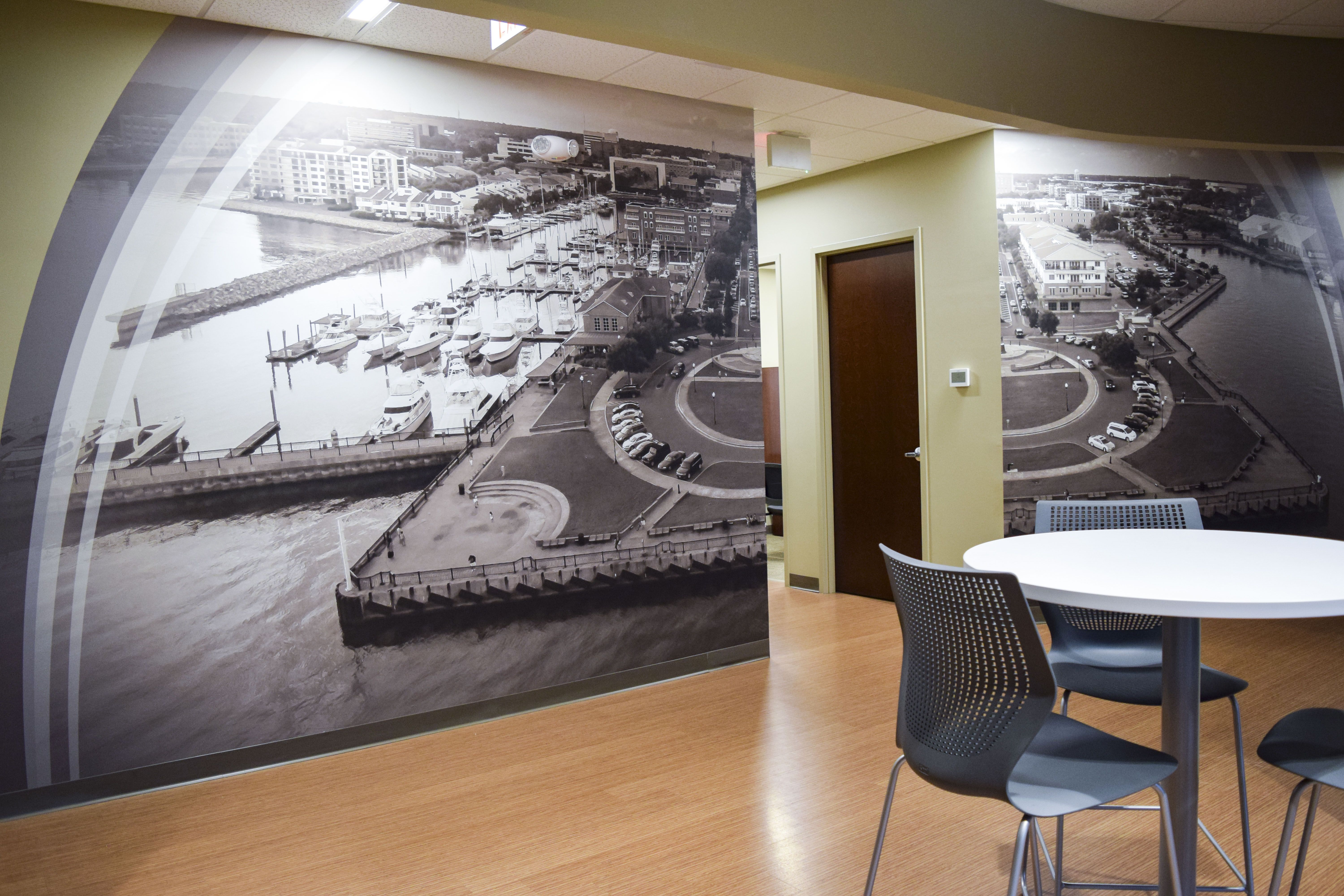 Wallpaper Mural For Lacy Phillips Designs Within Engineered