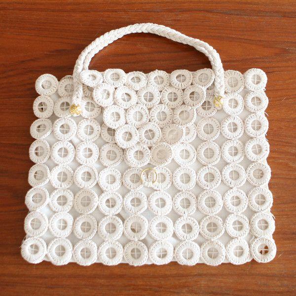 sac en crochet vintage annees 70 accessoires baos concept store vintage et contemporain - Baos Vintage