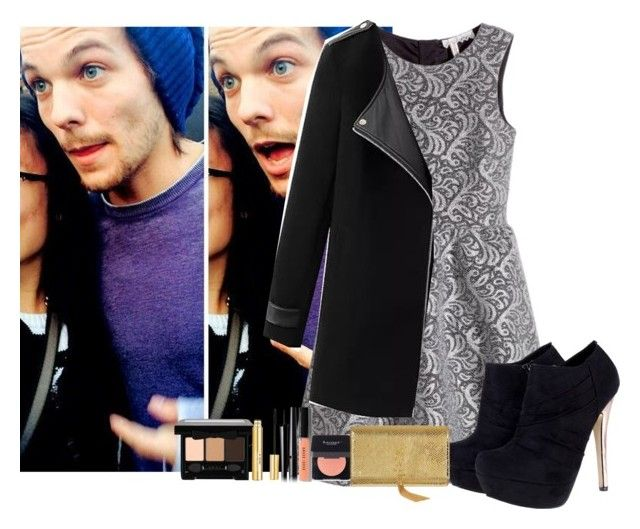 """""""""""New year with Louis..."""" by louisismykitten ❤ liked on Polyvore featuring H&M, Chicnova Fashion, Isaac Mizrahi, Chanel, Bobbi Brown Cosmetics, Butter London, Yves Saint Laurent and louistomlinson"""