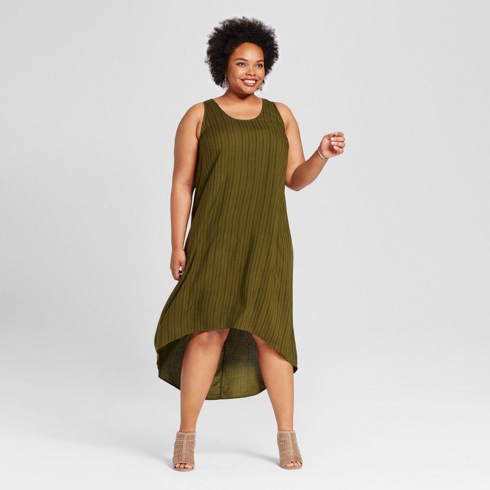 Women S Plus Size High Low Maxi Dress Ava Viv Olive Stripe High Low Maxi Dress Striped Maxi Dresses Maxi Dress [ 1000 x 1000 Pixel ]