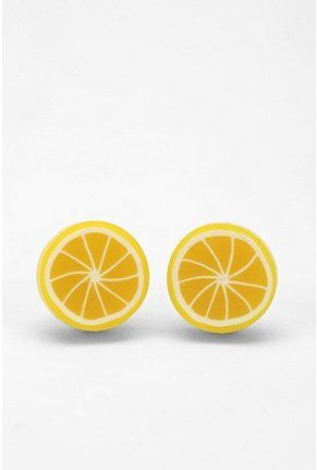 lemon earrings!!?!? need them haha