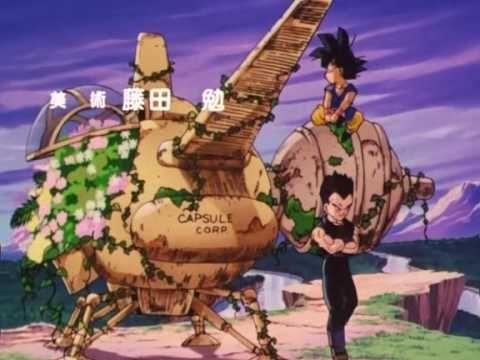 Goku Dragon Ball Gt Ending