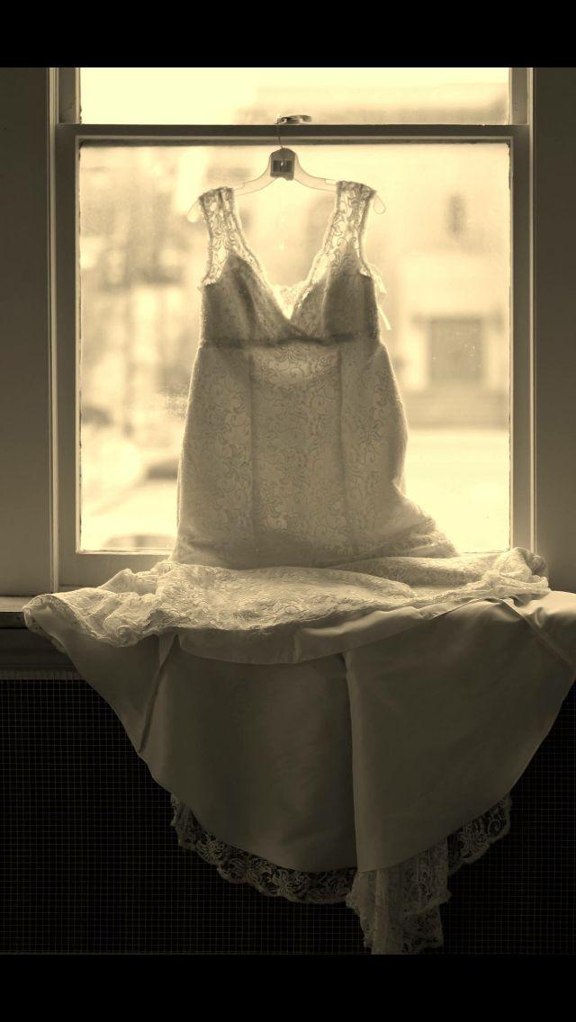 My beautiful wedding dress of my dreams!