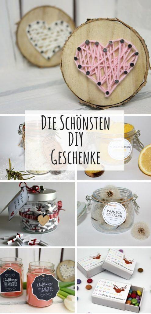Geschenke einfach selbermachen: Die kreativsten DIY Geschenkideen