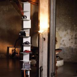 #decorsmallspaces Motusmentis Ghost G Anbauregal zehn Fächer rostbraun Motusmen…