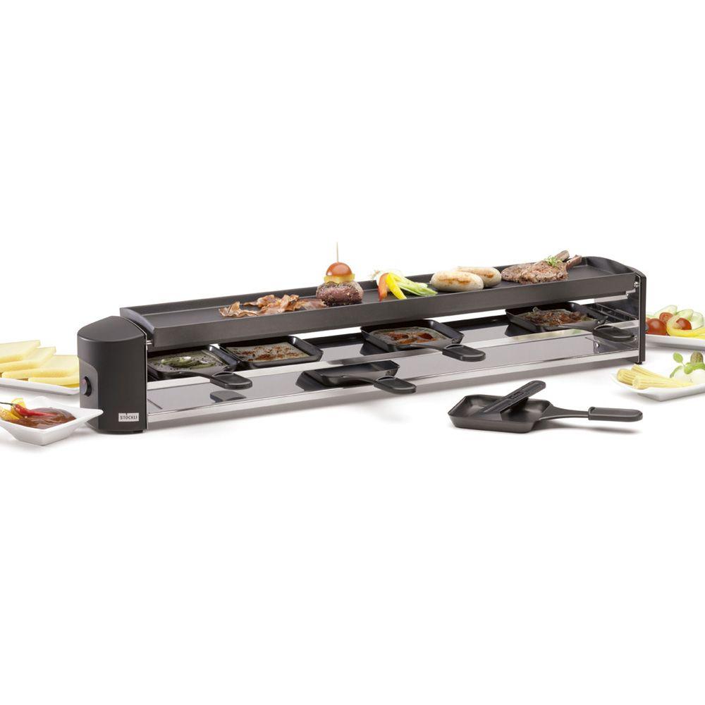 Stöckli Raclette cheeseboard six raclette grill gerät stöckli gear grill