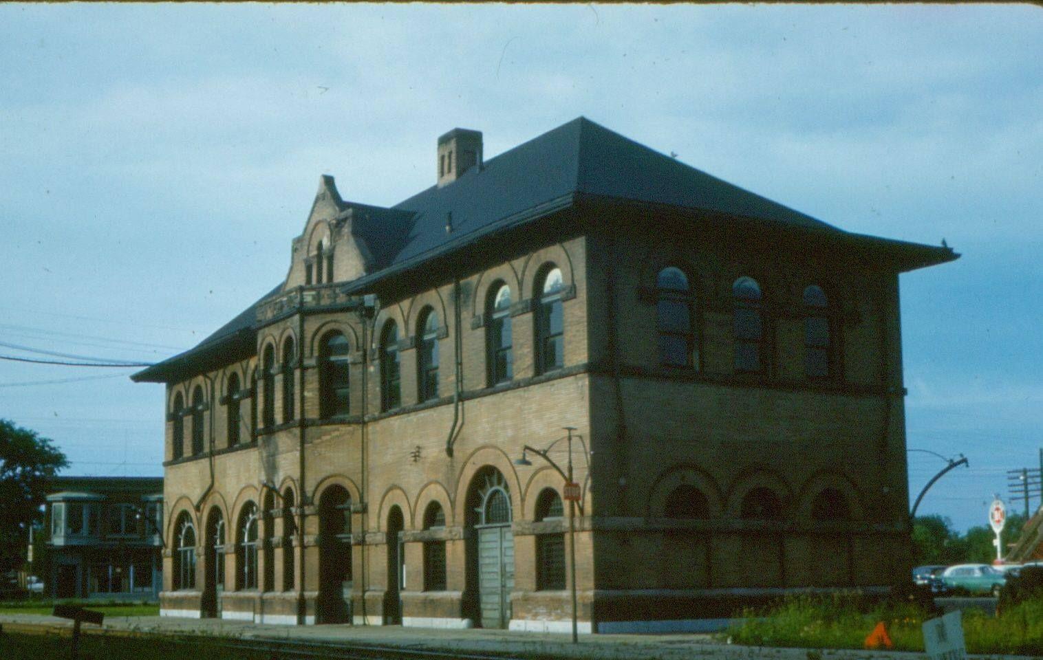 Lehigh Valley station, Auburn, NY Lehigh valley, The