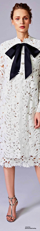 Lace dress styles 2018  Reem Acra Resort    Fashion  Pinterest  Resorts Designer