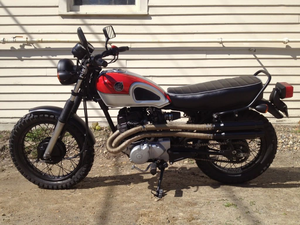 Honda Cm 250 Custom Scrambler Rebel 450 Ltd 440