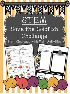 STEM Goldfish Challenge is an exciting way to promote critical thinking skills and problem solving. Students must problem solve to sort goldfish crackers using only a straw. Afterwards, students use their graph to complete math activities.=================================================This pack includes: *STEM Challenge*Goldfish Cracker Graph*Graph Analysis Page with Addition================================================I would love to hear from you, please leave me a rating & comment!