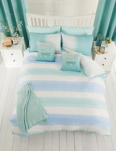 5 Stylish Beach Inspired Bed Linen Coastal Pinterest Bedroom