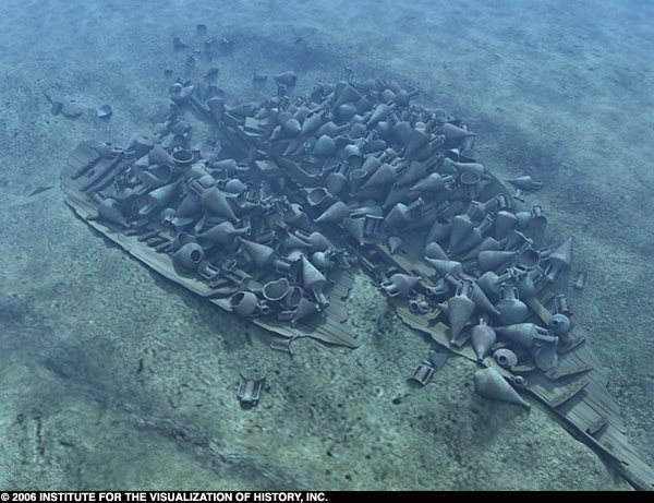 ANCIENT SHIPWRECKS: One of the most famous shipwrecks in the