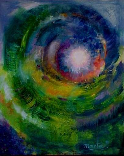 Espiral by Montserrat Moreta