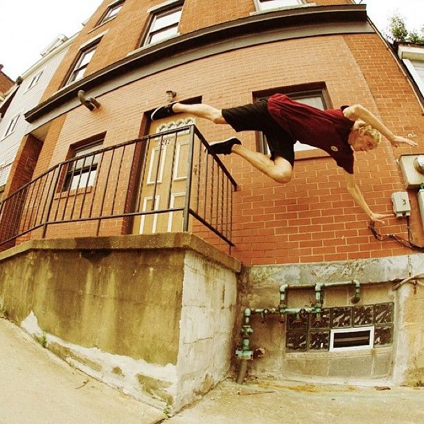 The harder you slam, the sweeter the land. Madars Apse (@madarsapse) dives head first into a #throwbackthursday. photo by John Bradford (@jbradford_photo). #madarsapse #tbt