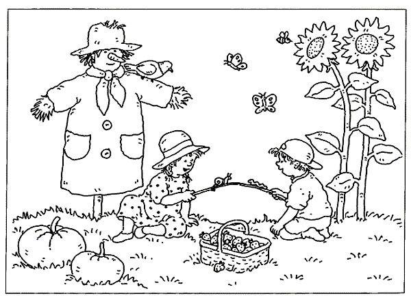 Coloriage Animaux Et Image Printemps Gratuit à Imprimer Pour Enfant