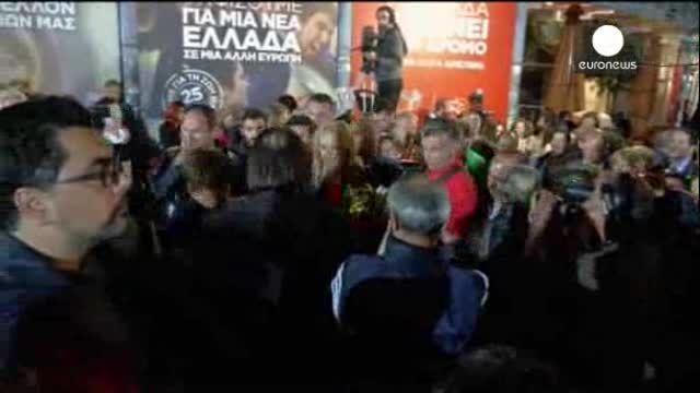 Syriza irrumpe con fuerza en la arena política griega y europea