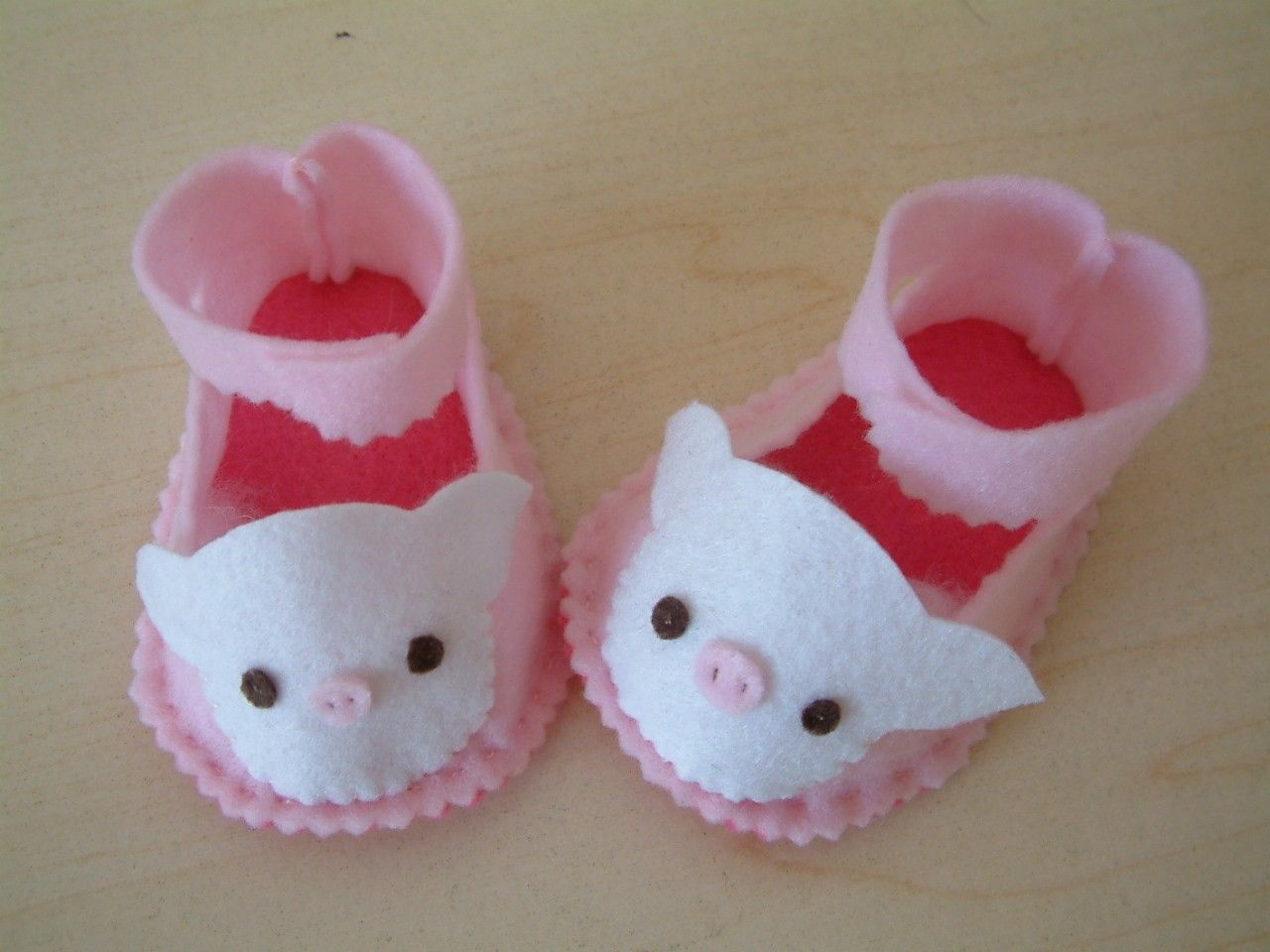 Easy sewing-DIY felt baby shoes-PDF pattern(6 different size)-H03-3 ...