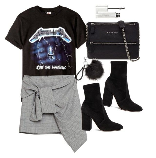 """""""Untitled #4229"""" by lilaclynn ❤ liked on Polyvore featuring Givenchy, Valentino, valentino and zara"""