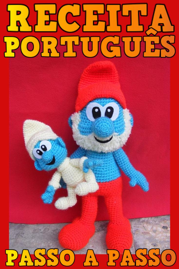 Bichinhos de crochê receitas em português passo a passo #bichinhos ... | 1102x735