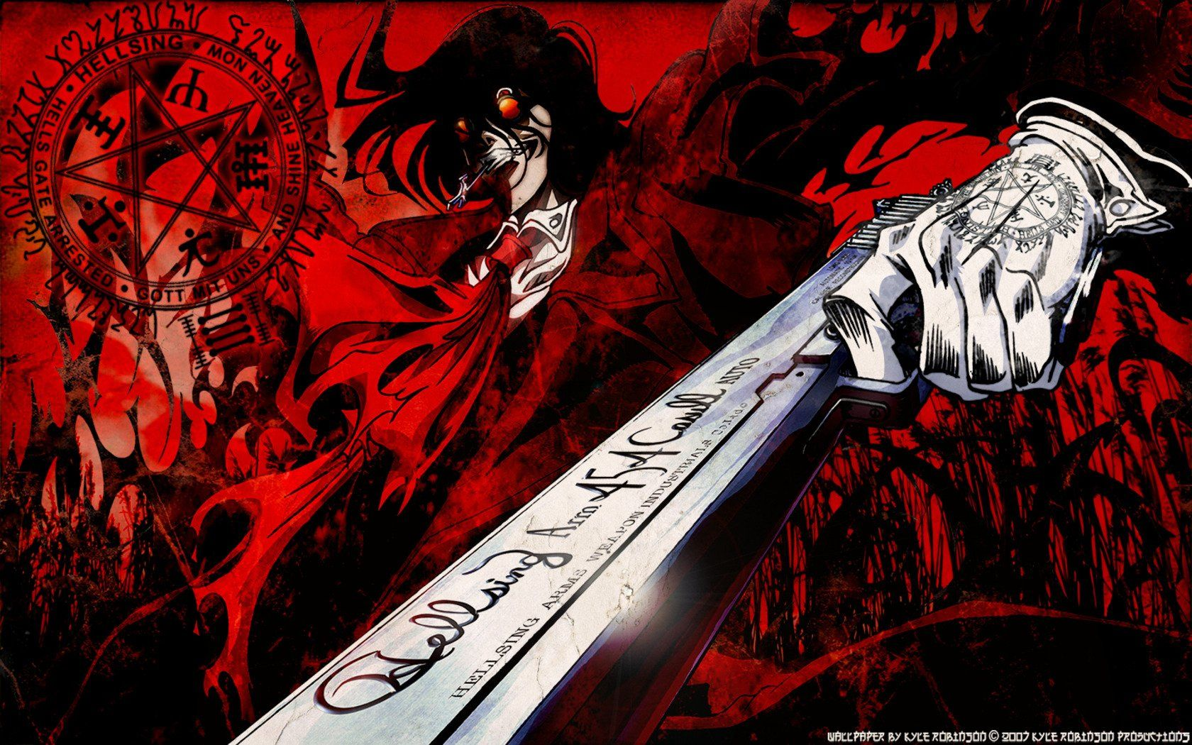 Alucard Hellsing Wallpaper 1920x1080 Manga, Indonesia