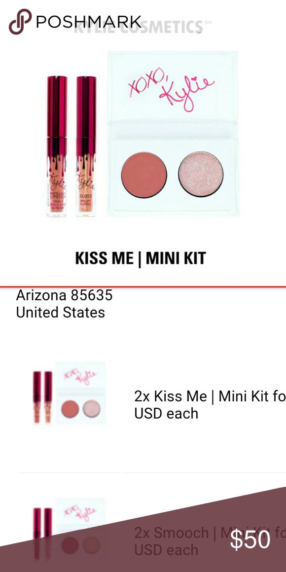 Kylie Cosmetics VALENTINE'S KISS ME MINI KIT Kylie