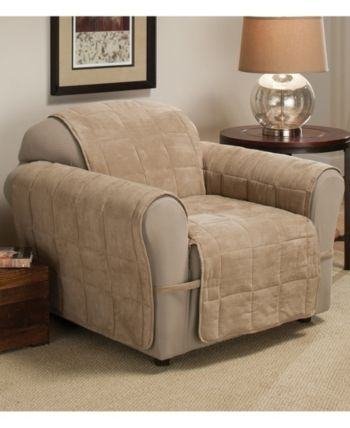 P Kaufmann Home Faux Suede Ultimate Chair Protector