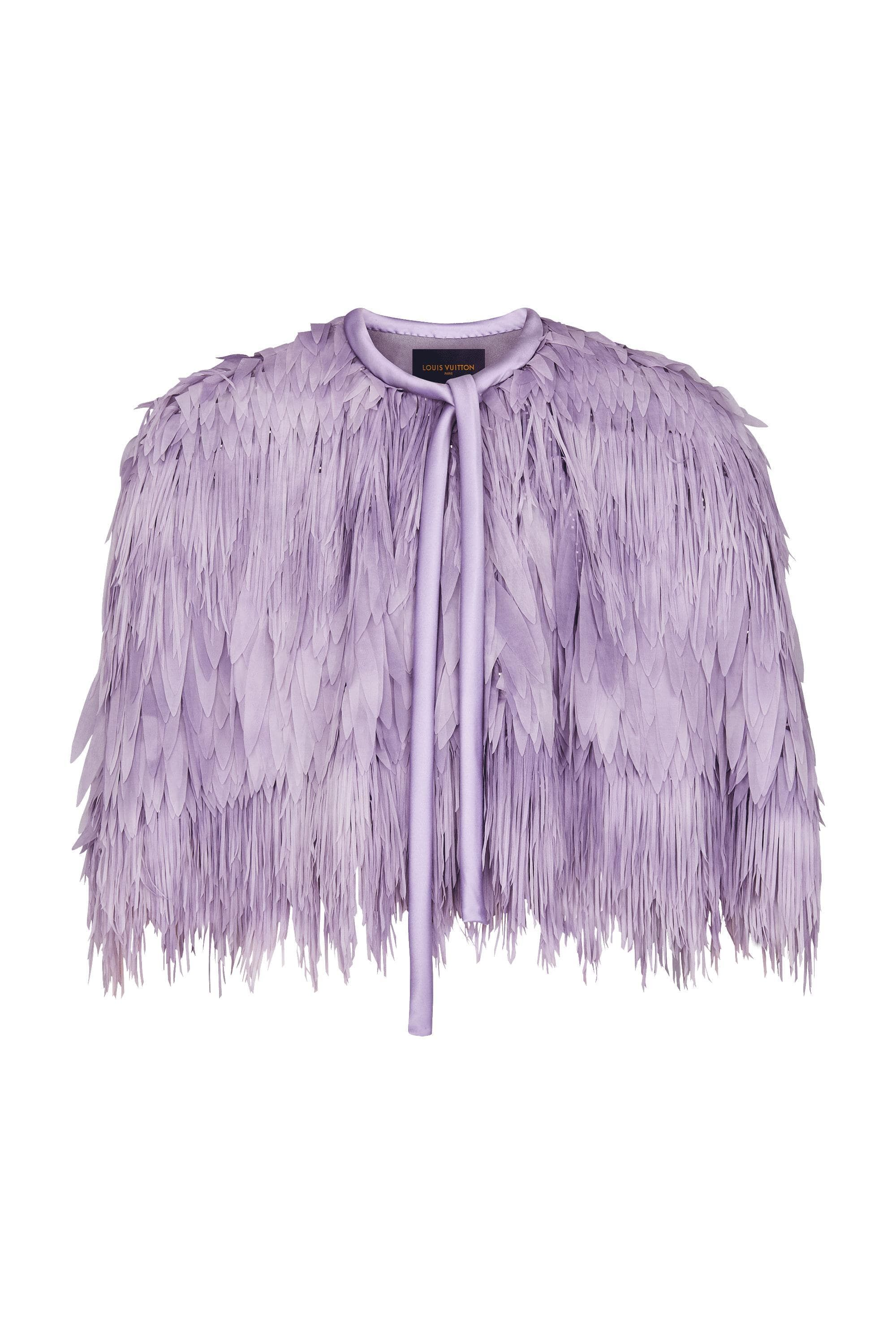 b3522efa30 Embroidered Short Cape - Ready-to-Wear | LOUIS VUITTON | Louis ...