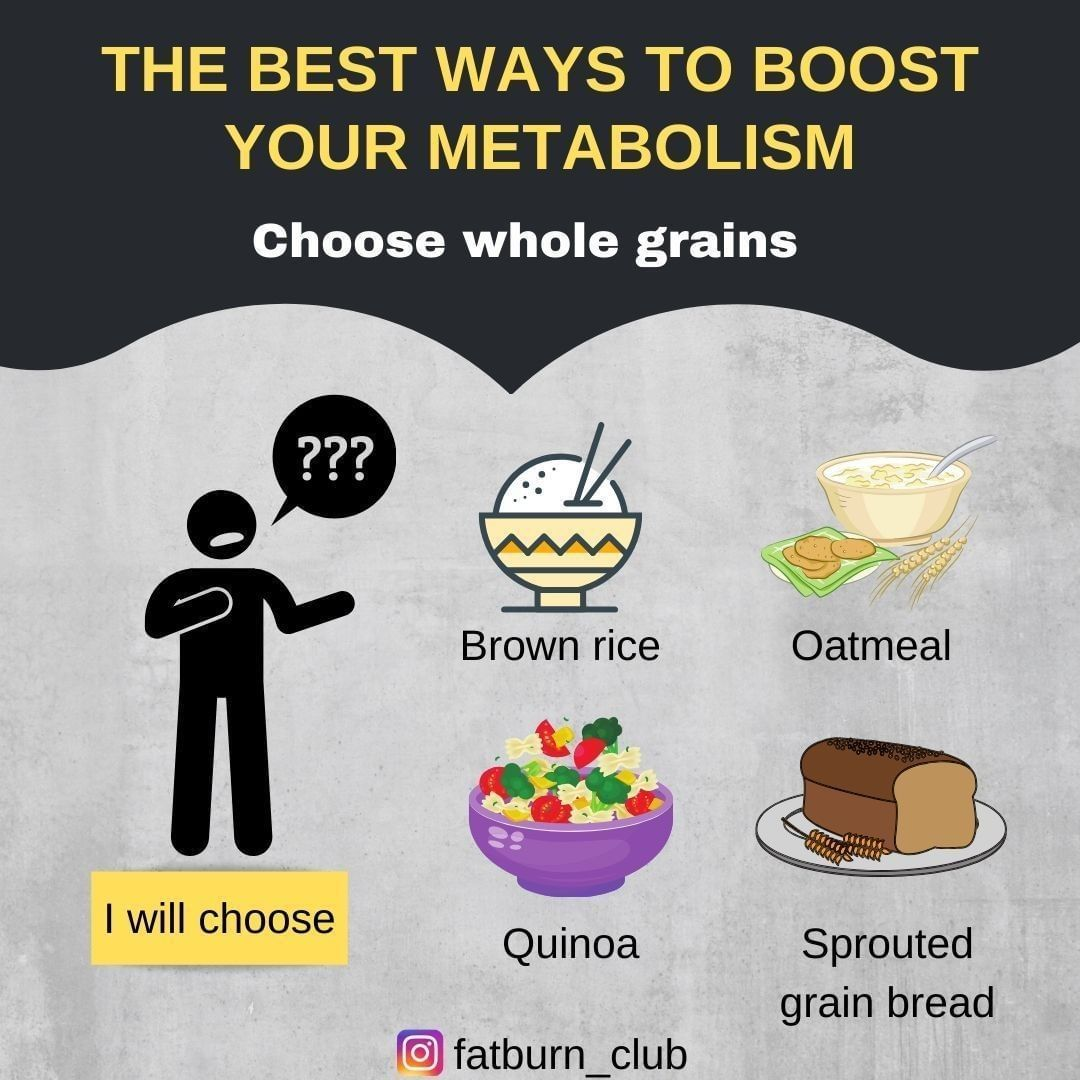 Best Ways To Boost Your Metabolism Sprouted Grain Bread Boost Your Metabolism Sprouted Grains