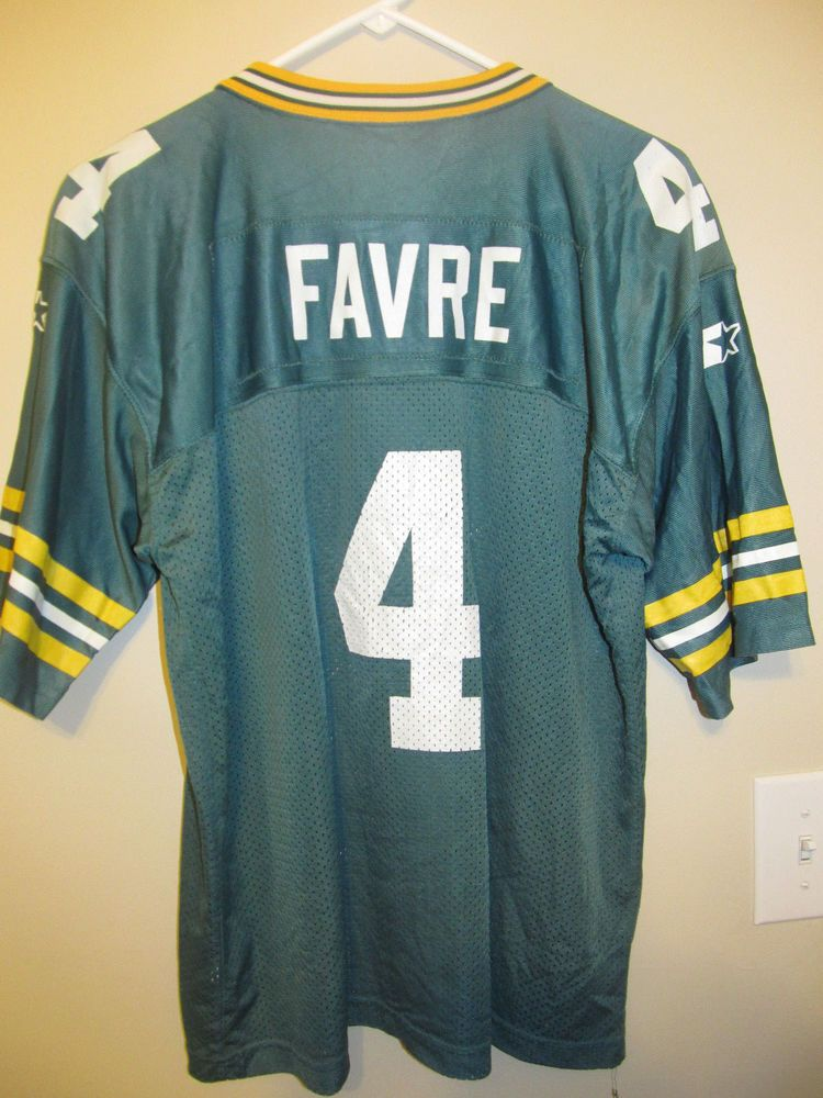 new style 35597 33534 Brett Favre - Green Bay Packers Jersey - Starter Youth XL ...