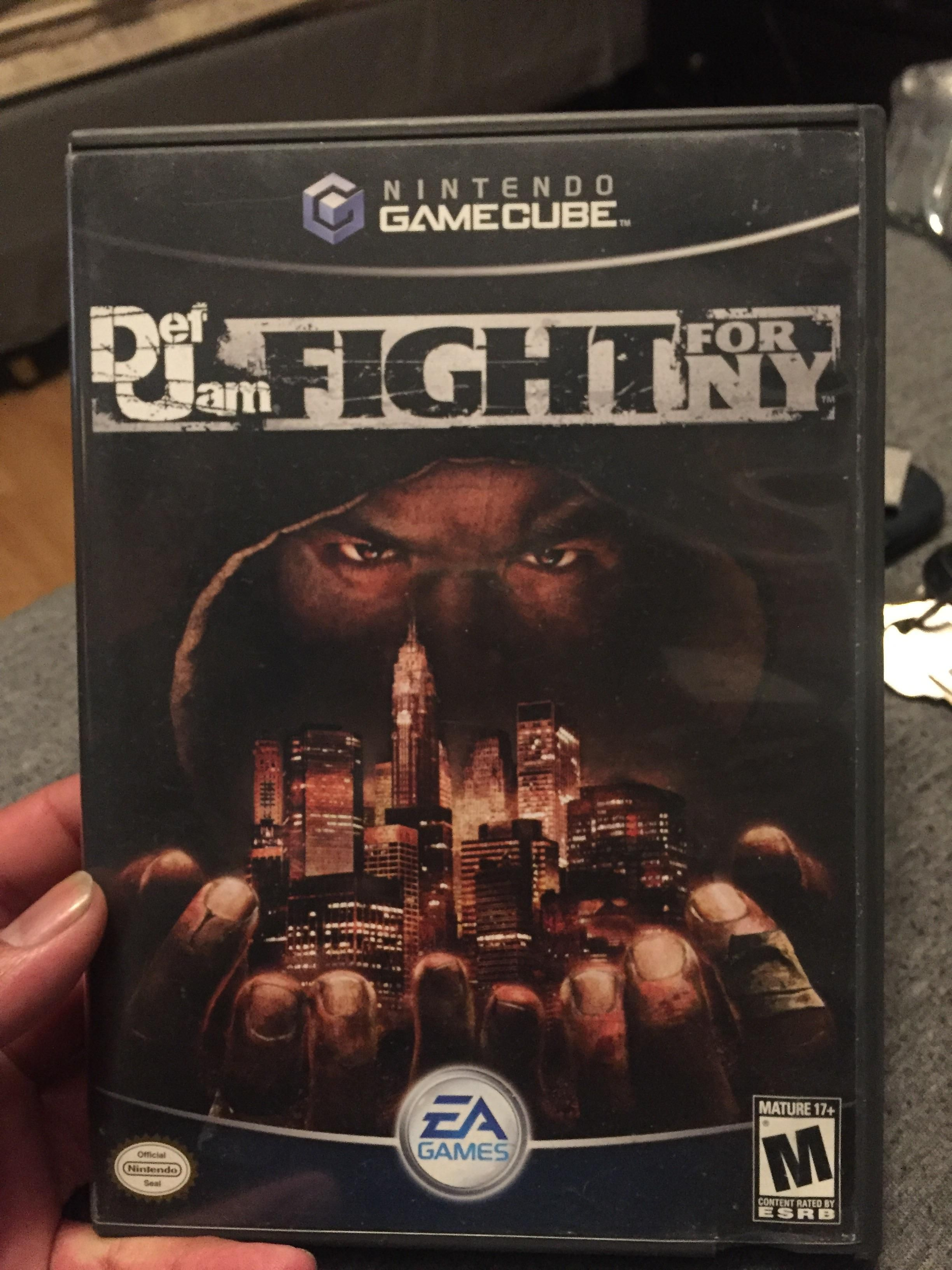 Free Nintendo GameCube Def Jam Fight For NY Video Game Tested and Working