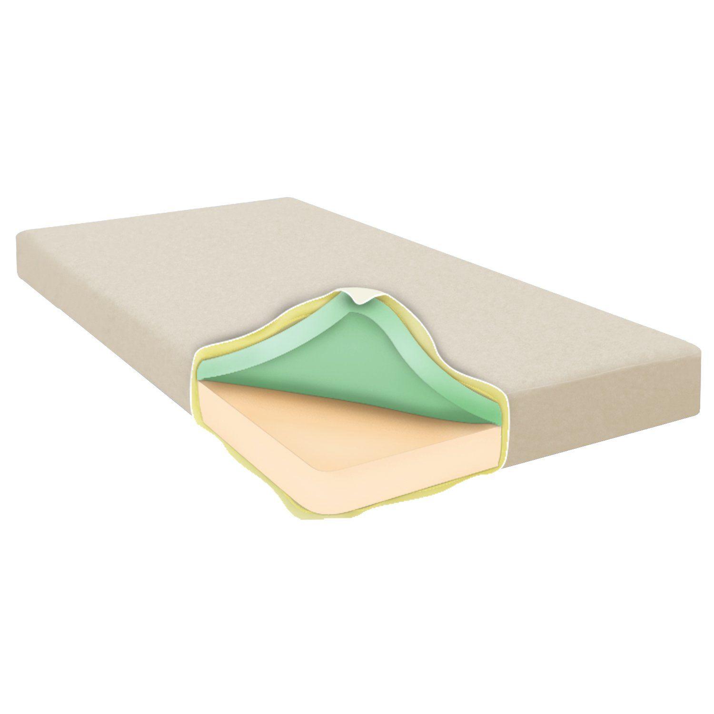 corliving sgh 414 s sleep memory foam mattress 6 mattresses 4