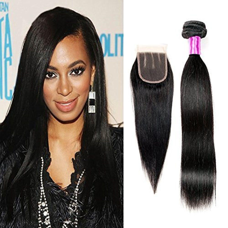 Queen Plus Hair Peruvian Straight Weave 7a Unprocessed Virgin Human