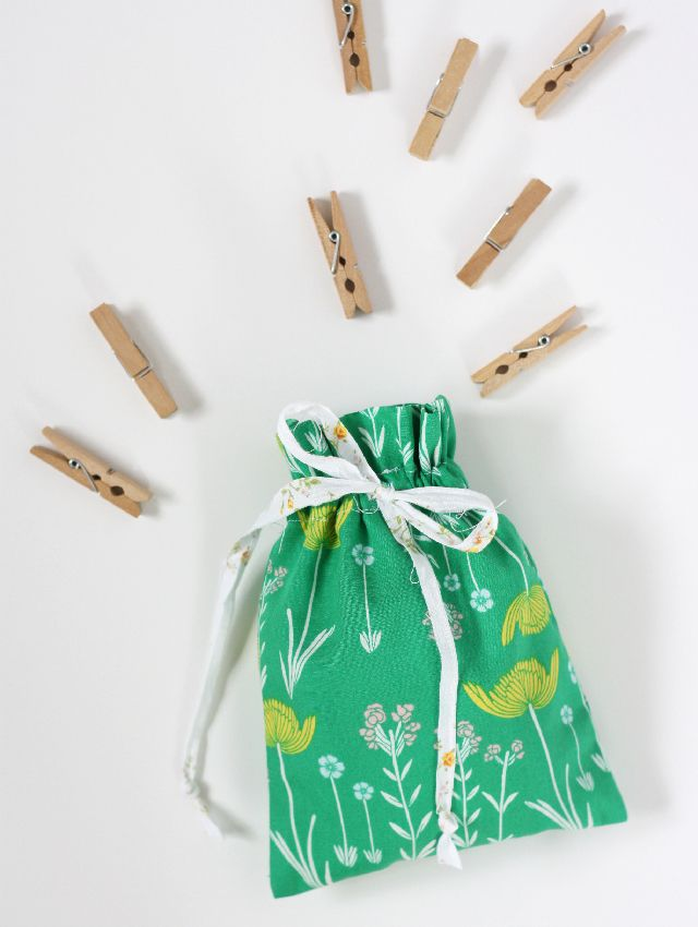 Easy Drawstring Bag Tutorial | Beutel