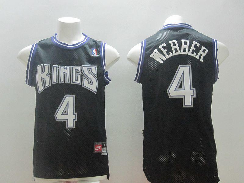 Sacramento Kings  4 Chirs Webber. Chris WebberSacramento KingsNhl  JerseysBasketball ... d9826fe58