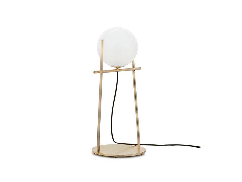 Metal Table Lamp Tondina Table Lamp By Ditre Italia Metal Table Lamps Metal Table Lamp