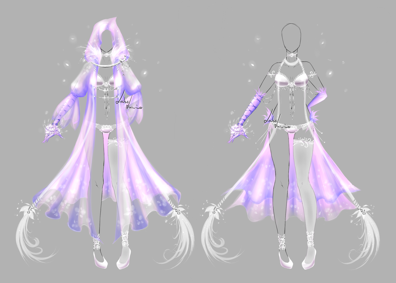 Outfit design - 187 - closed by LotusLumino on DeviantArt